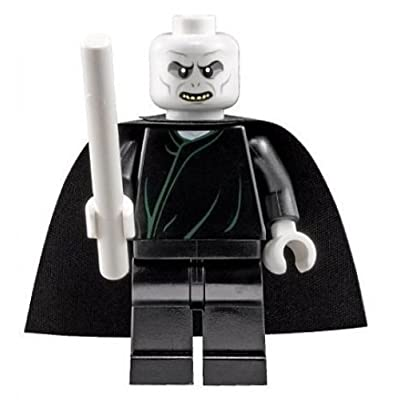 Lego Harry Potter Lord Voldemort with White Wand (2010 version): Toys & Games
