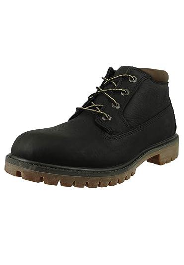brand new d1e80 dd247 Timberland Herren Schnürschuhe Premium WP Chukka Boots ...
