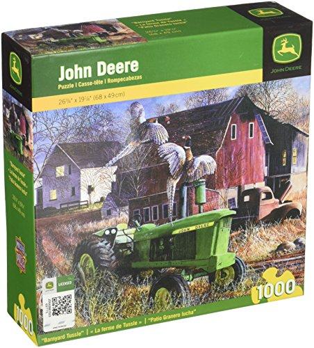 Master Pieces Puzzle John Deere Barnyard Tussle - Model 4...