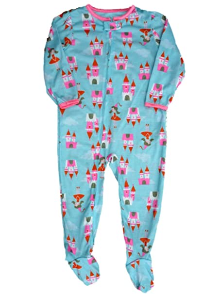 Carter s Girls Infant Toddler Princess Castle Blanket Sleeper Footed PJs 4T 67ddffd0b