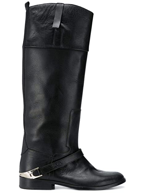 nuovo prodotto dd844 6a857 Golden Goose Stivali Donna G33ws106a1 Pelle Nero: Amazon.it ...