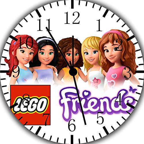Price comparison product image Borderless Friends Frameless Wall Clock Z186 Nice for Decor Or Gifts
