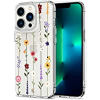 CYRILL by Spigen beschermhoes voor iPhone 13 Pro (6,1 inch) 2021, serie Cecile - Flower Garden