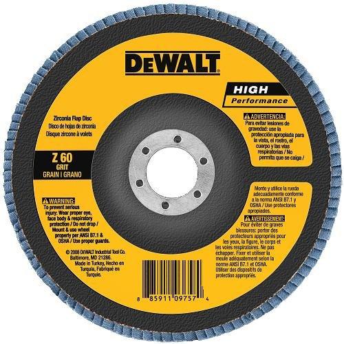 DEWALT DW8373 7-Inch by 7/8-Inch 80g Type 27 HP