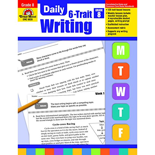 EVAN-MOOR DAILY 6 TRAIT WRITING GR 8 (Set of 3) by EVAN-MOOR