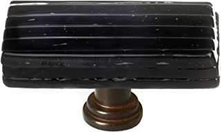 product image for Sietto LK-802-ORB Texture 2 Inch Long Rectangular Cabinet Knob