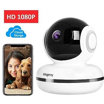 1080P WLAN YI Cloud IP Webcam Kabellos WIFI Video IR LED ÜBerwachungskamera DE