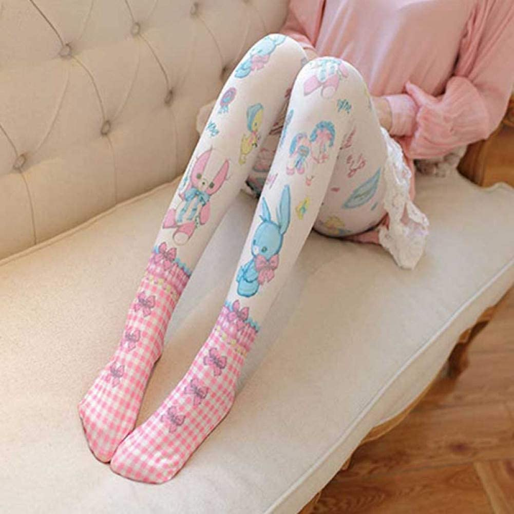 Frauen Strumpfhosen Harajuku Tattoo Pantyhose Strümpfe Strumpfhosen Tätowierung