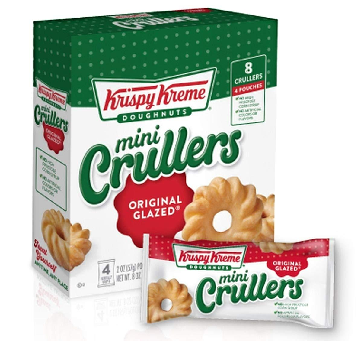 Krispy Kreme Mini Crullers (Original Glazed, 8oz)