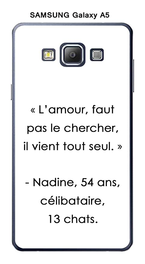 Onozo Carcasa Samsung Galaxy A5 diseño con cita L amour ...