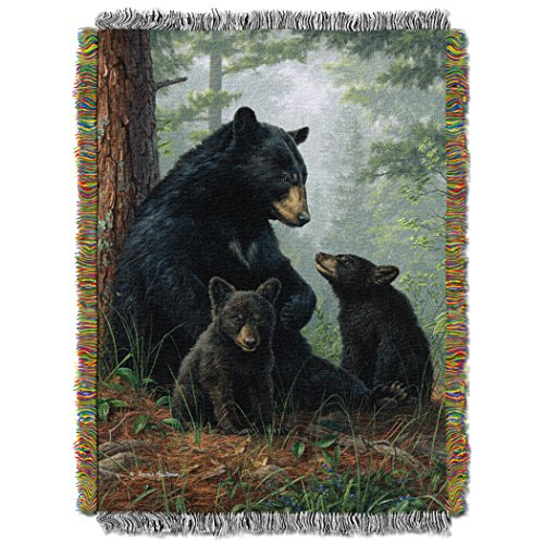 Naptime Rug - Hautman Bros. Naptime Licensed 48x 60 Woven Tapestry Throw