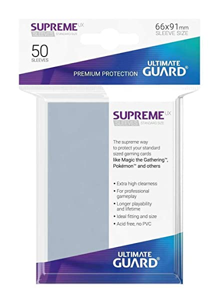 Amazon.com: Ultimate Guard - Sleeves: Supreme UX Standard ...