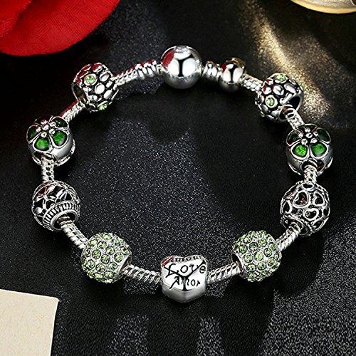 Buy green pandora bracelet