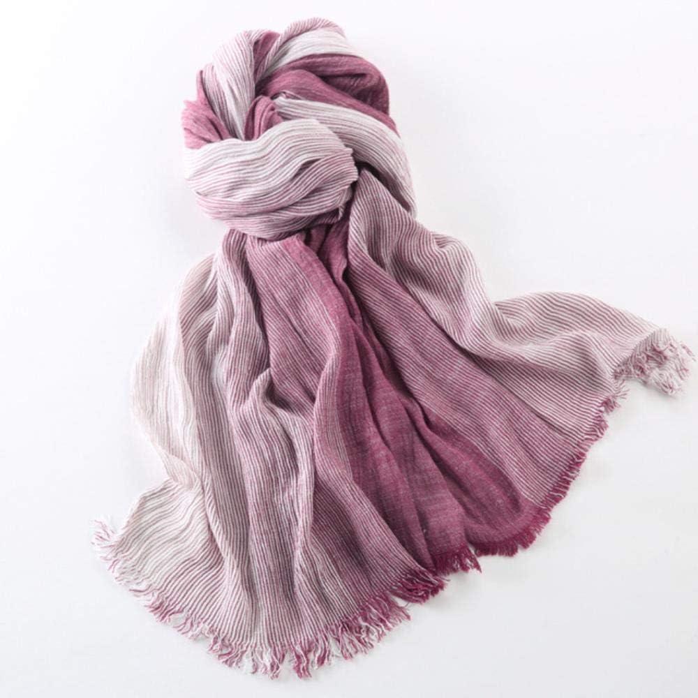 garniture de dentelle motifs florales et franges ch/âle styleBREAKER /écharpe unicolore tissu femmes 01016112