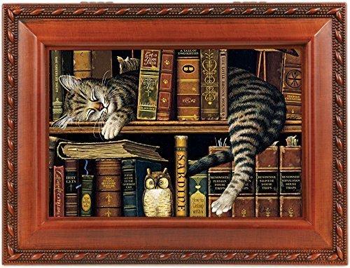 超爆安  Cat Sleeping inライブラリ木製音楽ボックスthat Cottage 's What B017O7BBQI Friends Are For mb249 's by Cottage Garden B017O7BBQI, ワイシャツのLABORNE - ラボーネ -:b9cf76dc --- arcego.dominiotemporario.com