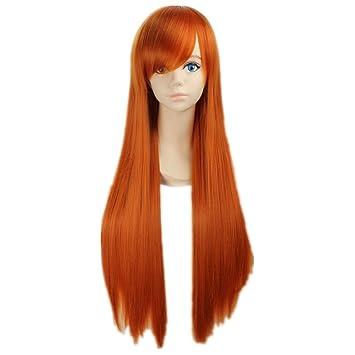 Amazon Com Cosplaza Cosplay Wigs Bleach Orihime Inoue Straight Long