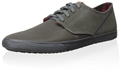 Ben Sherman Men's Ron Fashion Sneaker, Grey, ...
