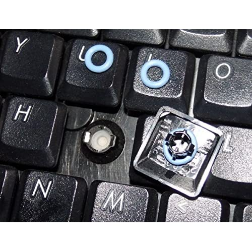 Captain O-Ring 40A-R 0.4mm 135 pcs Rubber Keyboard Switch Dampeners Blue