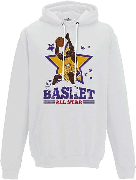 KiarenzaFD Sudadera Capucha Baloncesto Vintage Parodia All Star ...