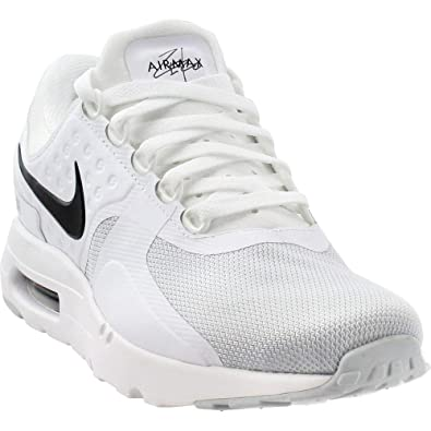 promo code 423d3 4cfe5 Nike Mens Air Max Zero Essential Athletic   Sneakers White