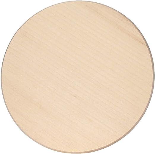 bütic Arce Jamonero – Plato redondo Platos – de madera Tabla de cortar FSC, madera, 30 cm Durchmesser: Amazon.es: Juguetes y juegos