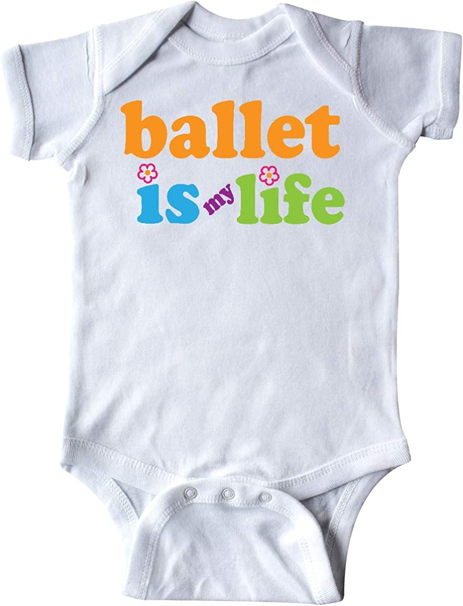 inktastic Ballet Dancer Ballerina Dance Quote Infant Creeper