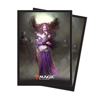 "Magic: The Gathering Core Set 2020 ""Liliana, Untouched by Death Deck Protector Sleeves (80 Count): Toys & Games"