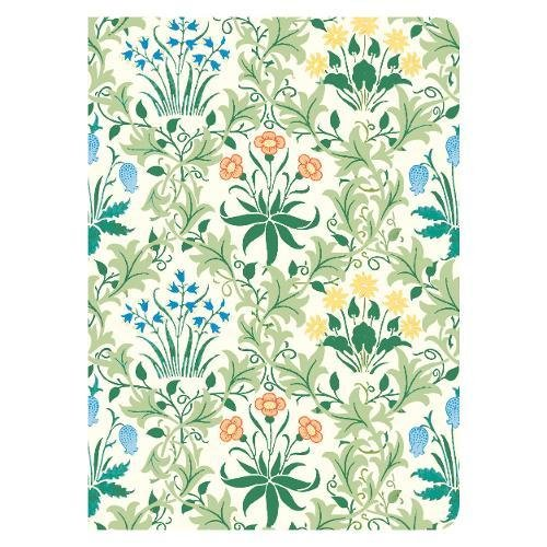 Price comparison product image William Morris Celandine Handmade Embroidered Journal