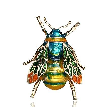 Ogquaton Papillon Broche Broche De Mode Mignon Broche Insecte Bijoux Cadeaux Danniversaire Durable et Utile