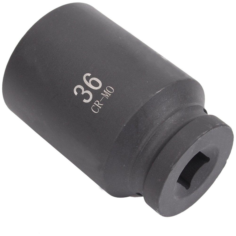 CCLIFE Douille à écrou hexagonale pour clé à choc 1/2' - 36 mm - Douille à choc - douille 36