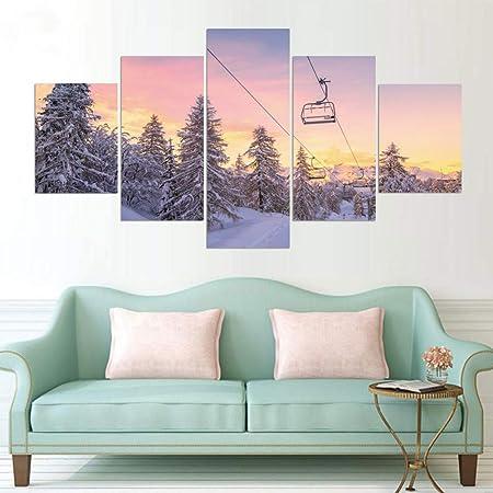 PODUYJ 100 * 55cm Lienzo HD Impresiones Cartel Arte de la ...