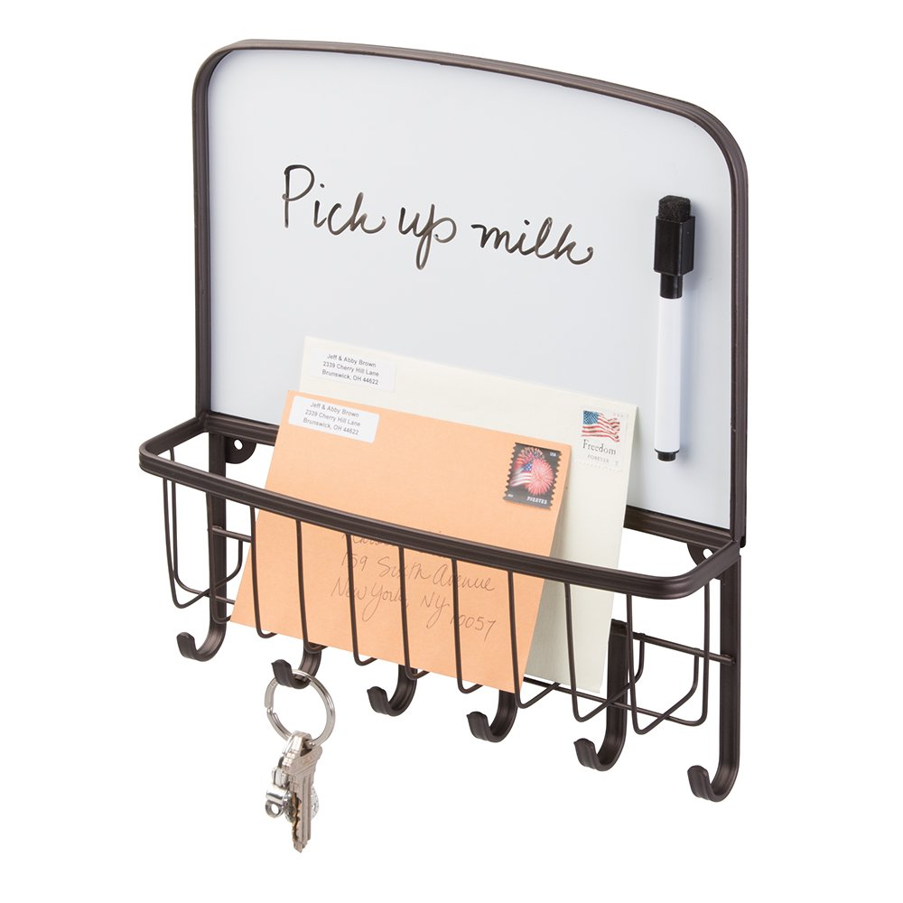 AmazonCom Mdesign Mail Letter Holder Key Rack Organizer For