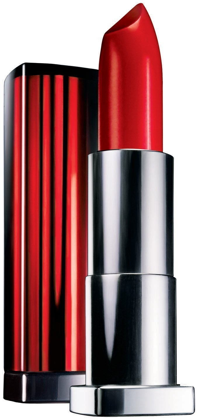 (3 Pack) Maybelline New York Colorsensational Lipcolor, Red Revival #645, 0.15 Ounce