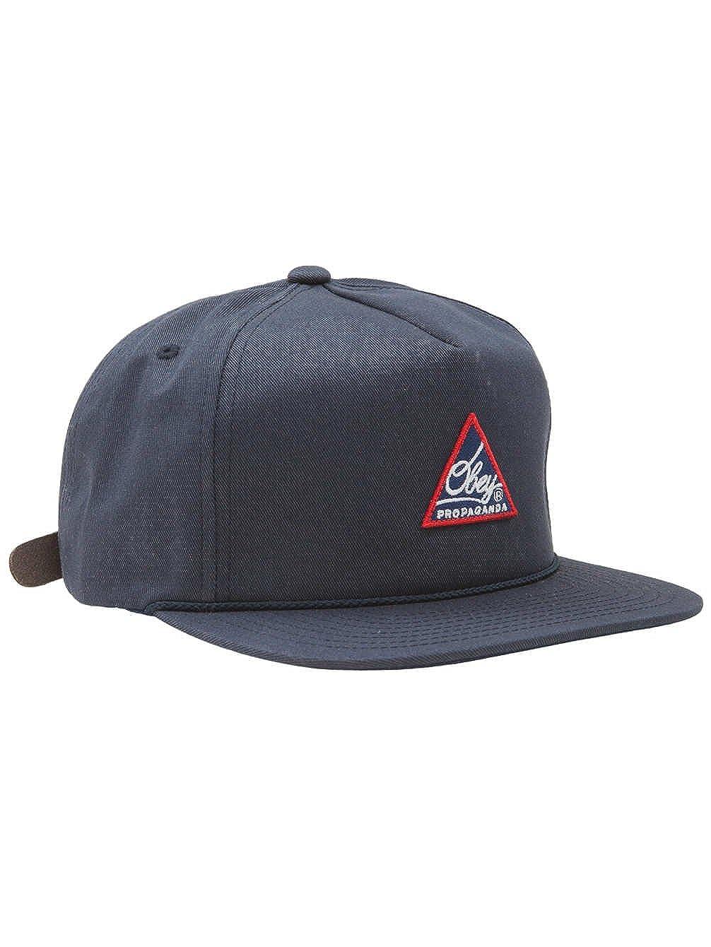 Obey - Gorra de béisbol - para Hombre Azul Marino Talla única ...
