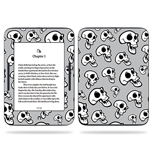 MightySkins Skin Compatible With Barnes & Noble NOOK GlowLight 3 (2017) - Laughing Skulls | Protective, Durable, and Unique Vinyl Decal wrap cover | Easy To Apply, Remove | Made in the USA