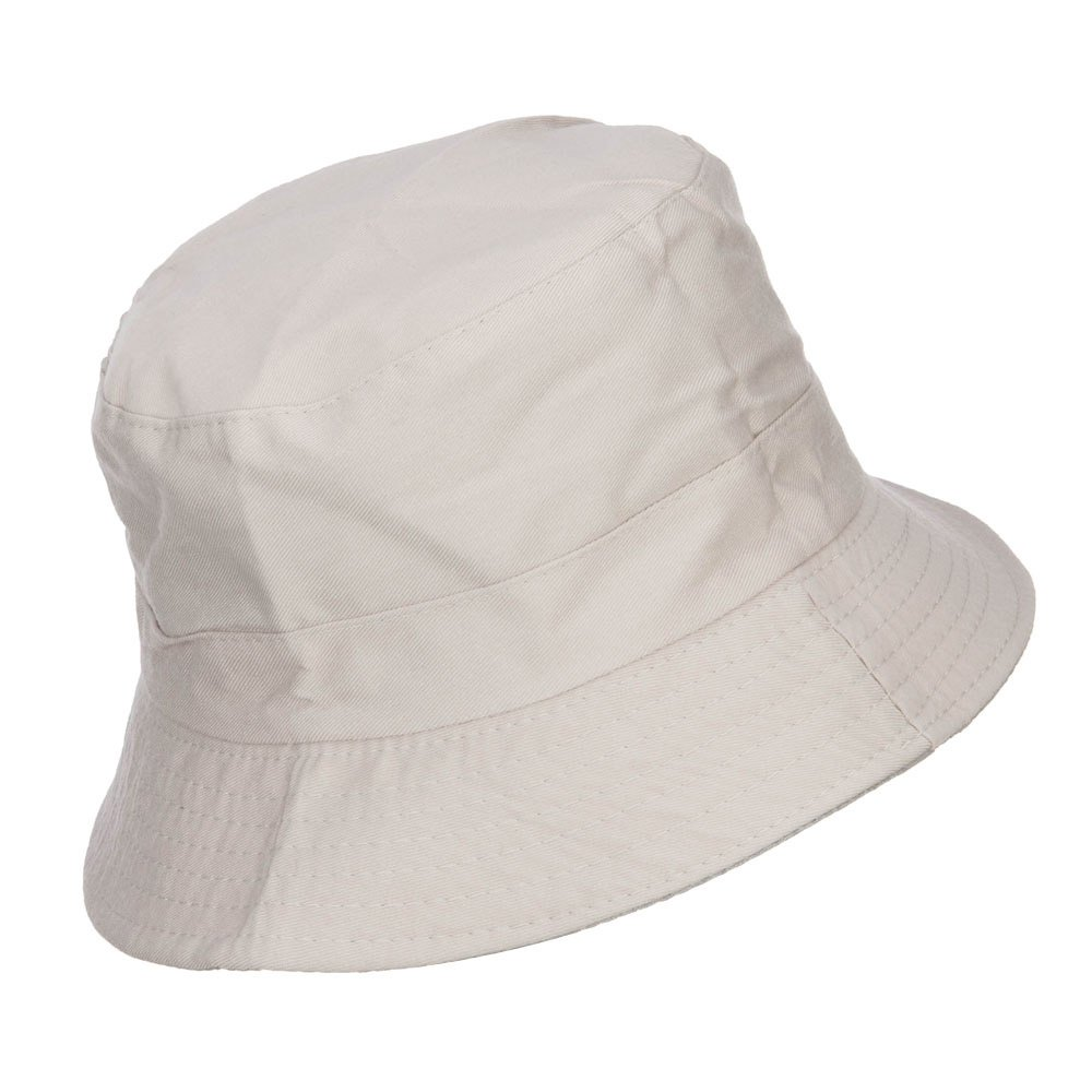 e9339c6285c Jeanne Simmons Zip Pocket Cotton Bucket Hat at Amazon Men s Clothing store