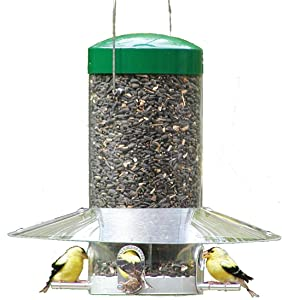 "Birds Choice 12"" Classic Hanging Tube Feeder"