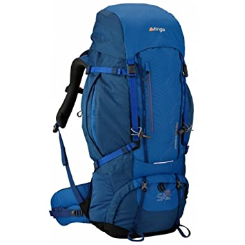 eee9a71de1 Vango Sherpa 60+10S Rucksack Small Coast Blue  Amazon.co.uk  Sports    Outdoors