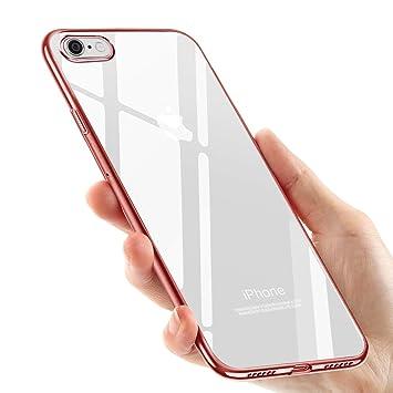Funda iPhone 8, Funda iPhone 7, tronisky iPhone 8 iPhone 7 Silicona Funda Carcasa Caso Slim Anti-Rasguño Choque Resistente TPU Bumper Protectora Caso ...