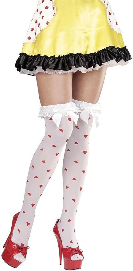 WIDMANN 01303 – 1 par de calcetines, Modelo Parisienne, con lazo y diseño de
