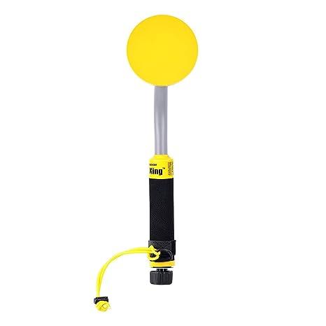 Detector de metales tesoro de mano Submarino Vibra-King 750 con indicador de detección de vibración y LED: Amazon.es: Electrónica