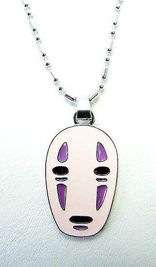 Face Pendant Amazon spirited away no face mask alloy pendant necklace toys spirited away no face mask alloy pendant necklace audiocablefo