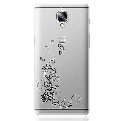 OnePlus 3 / OnePlus 3T Funda, ocketcase® TPU Carcasa Suave Silicona Flexible Gel Funda Resistente a los Arañazos Tapa Protectora Case Cover para ...