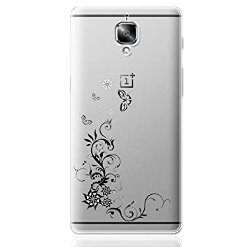 ocketcase OnePlus 3 / OnePlus 3T Funda, TPU Carcasa Suave Silicona Flexible Gel Funda Resistente a los Arañazos Tapa Protectora Case Cover para ...