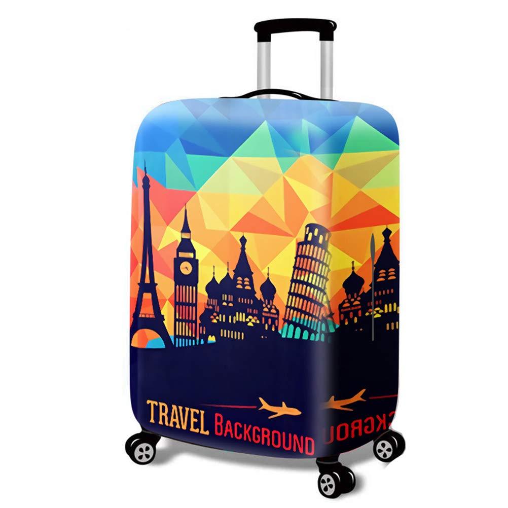 Luggage cover Housse de Valise de Style color/é /épais r/ésistant /à lusure Tissu /élastique mat/ériau Lavable Voyage Chariot /étui Housse de Protection