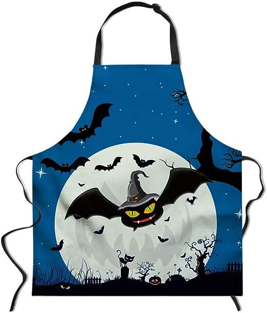 Bat Halloween Apron