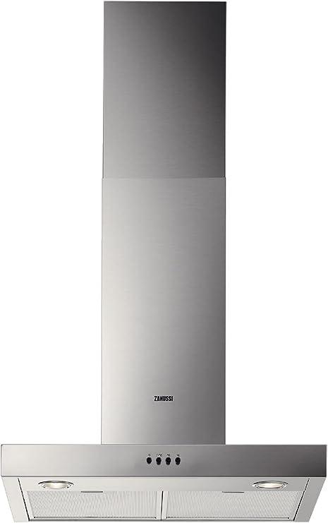 Zanussi ZHC62661XA - Campana Decorativa Zhc62661Xa Con 3 Velocidades: 181.48: Amazon.es: Hogar
