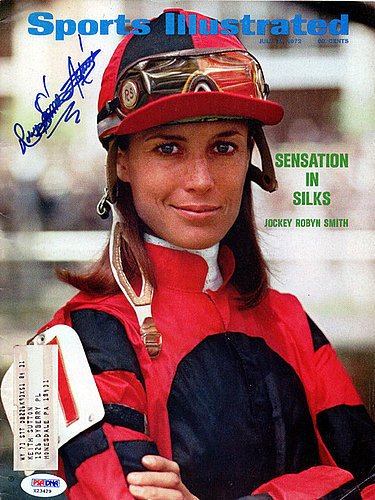 Robyn Smith Astaire Signed Sports Illustrated Magazine - PSA/DNA Authentication - Sports Memorabilia