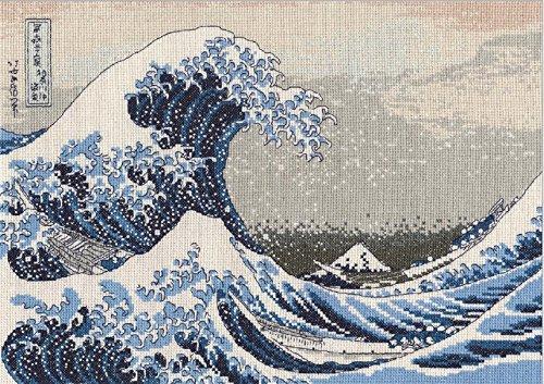 Dmc Cross Stitch Kits - DMC Counted Cross Stitch Kit - The Great Wave