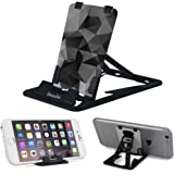 Slim-Pro Stand By Amusent-Ultra Slim Portable Phone Stand, Kickstand-As Small As Credit Card, Pocket size-Foldable, Adjustable, Multi-angle, Compatible w/ iPhone, Smartphones & Tablets
